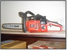 gergaji mesin atau chain saw