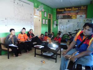 rapat yantek bersama kepala regu dan kordinator beserta staff cabang