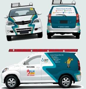 desain mobil yantek baru